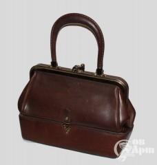 Винтажная сумка-саквояж Etienne Aigner