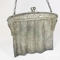 Сумочка кольчужного плетения