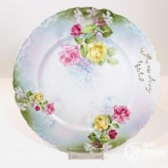 Тарелка « Букет роз»