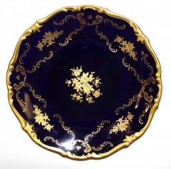 Тарелка кобальтовая