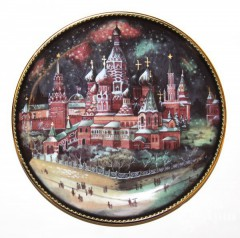 """Тарелка """"Москва"""""""