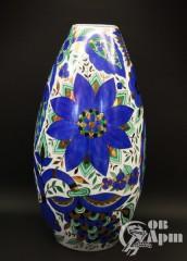 """Ваза """"Синие цветы"""""""