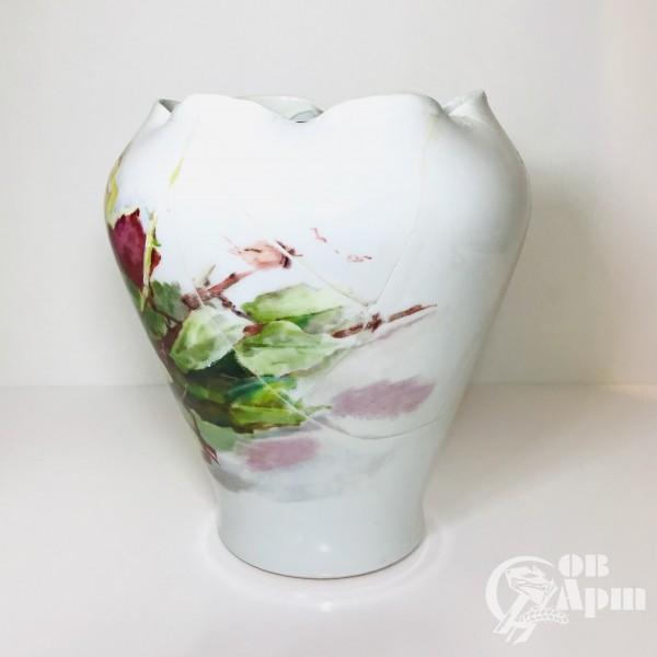 Ваза «Чайные розы»
