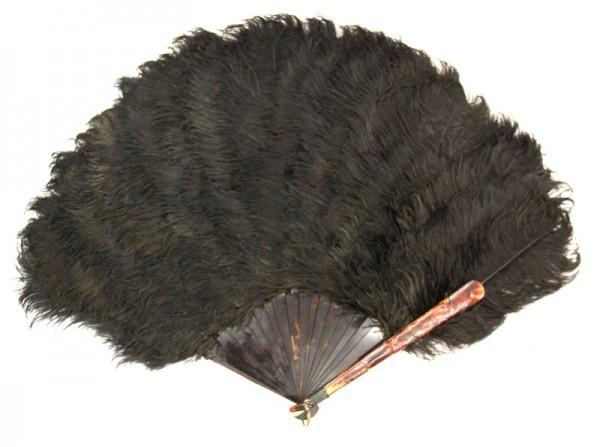 Веер из перьев страуса